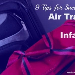 air travel with infants