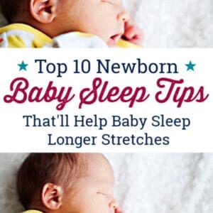 how to get a newborn baby sleep