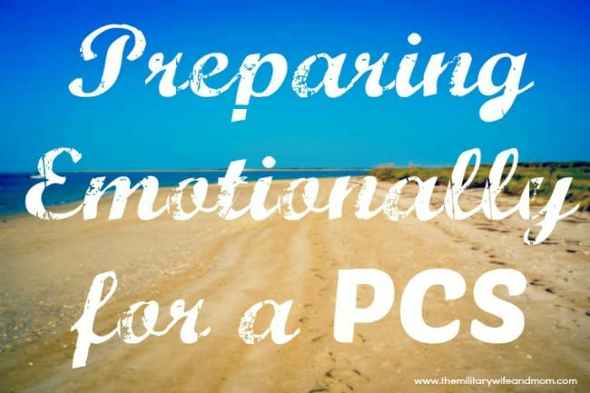 preparing emotinally for a PCS