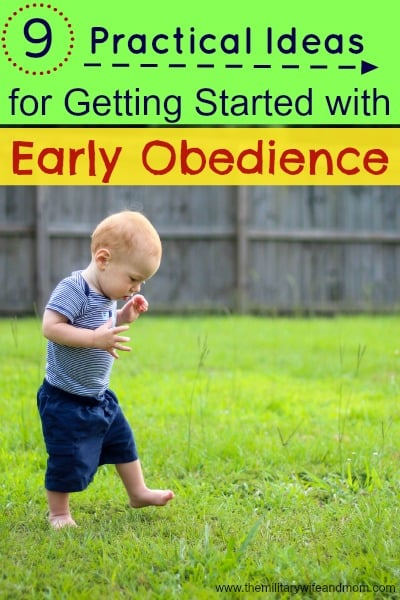 9 Practical Ideas for Teaching Early Obedience
