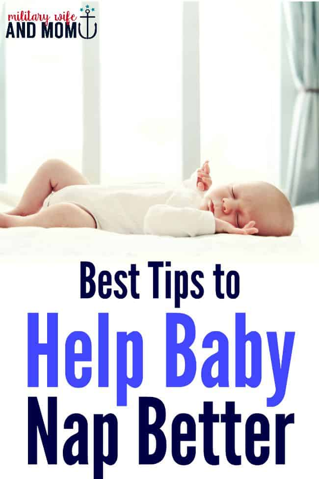 Practical baby sleep tips to encourage better and longer naps!
