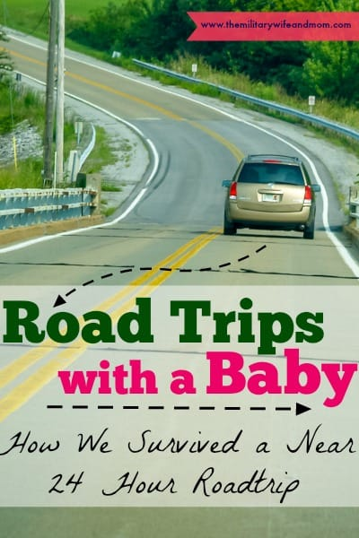 road trips with a baby