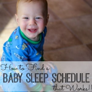 Baby Sleep schedule