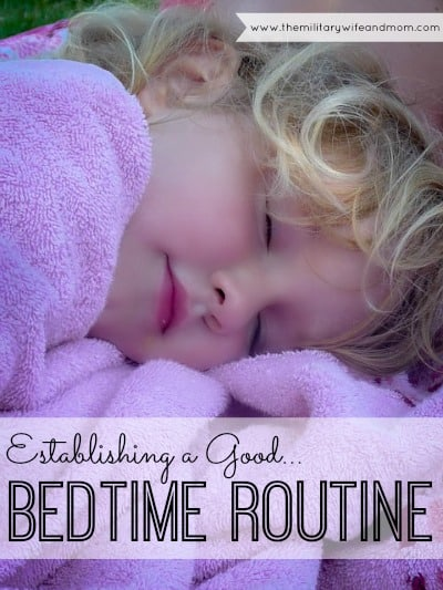 How to start a great bedtime routine to help your child sleep better.