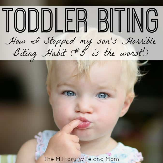 Toddler Biting