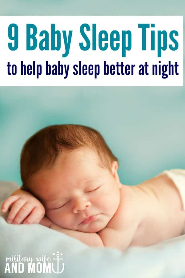 These baby sleep tips put my infant straight back to sleep every time newborn