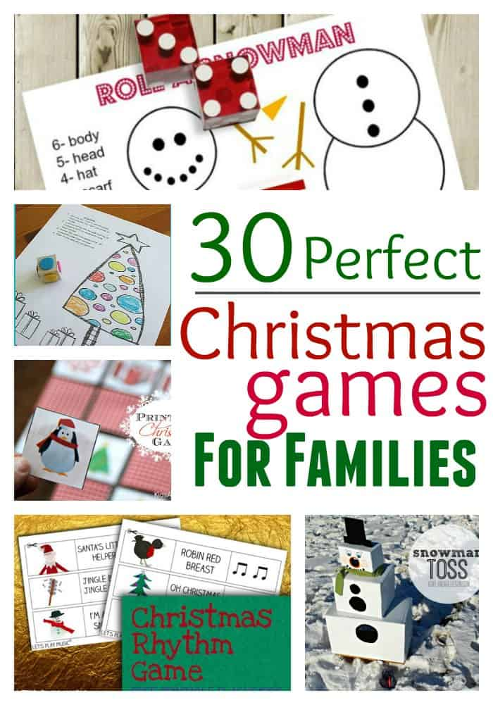 30 perdect christmas games for families - Family Games To Play At Christmas