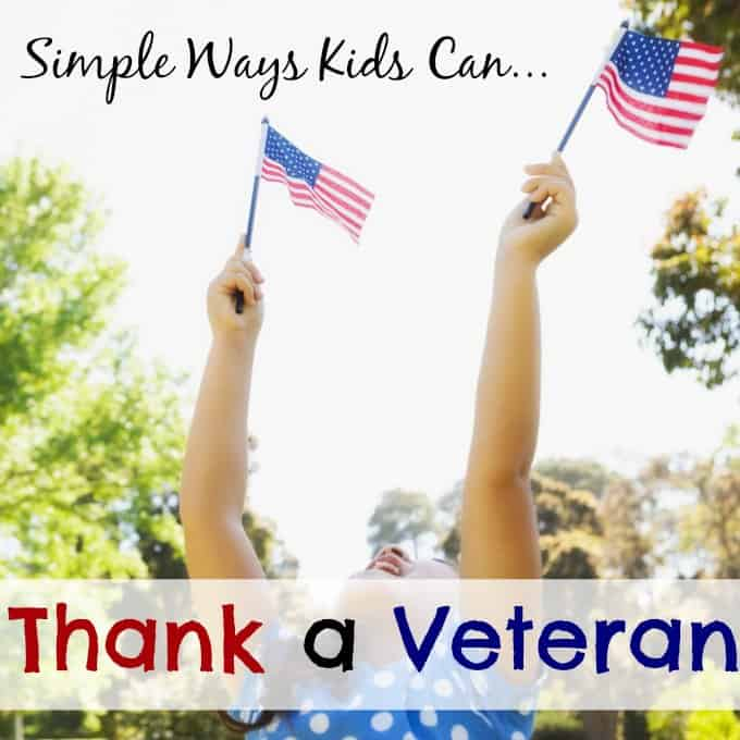 Kids Thank a Veteran