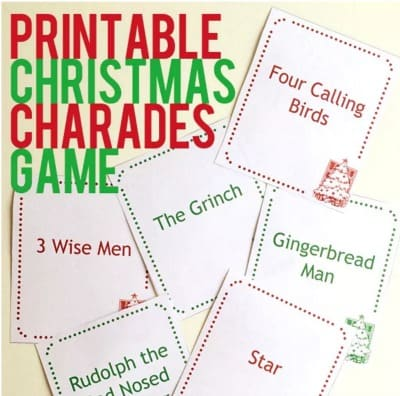 graphic regarding Printable Christmas Games With Answers named 30 Fantastic Xmas Game titles for People That Will Carry Your self