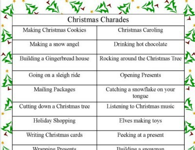 photograph regarding Printable Christmas Games With Answers titled 30 Suitable Xmas Online games for Family members That Will Convey On your own