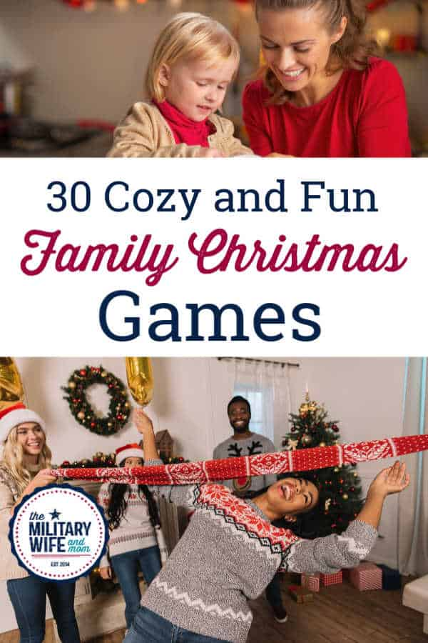 Try one of these cozy and fun family christmas games to make your holiday extra special. All of these work as holiday games for kids and are a great way to start family christmas traditions.