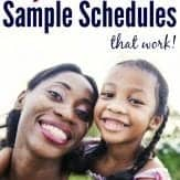 Are you looking for a stay at home mom schedule? This post is awesome. Plus, I love the book of sample schedules it shares at the end.
