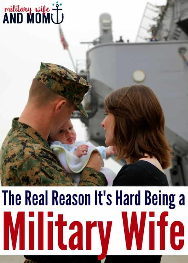 Being a military wife is hard and there's a reason for it | Military girlfriend | Military spouse | Military significant other | Military family