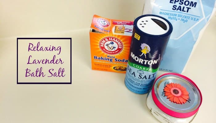 Best DIY Gifts for New Moms Bath Salt