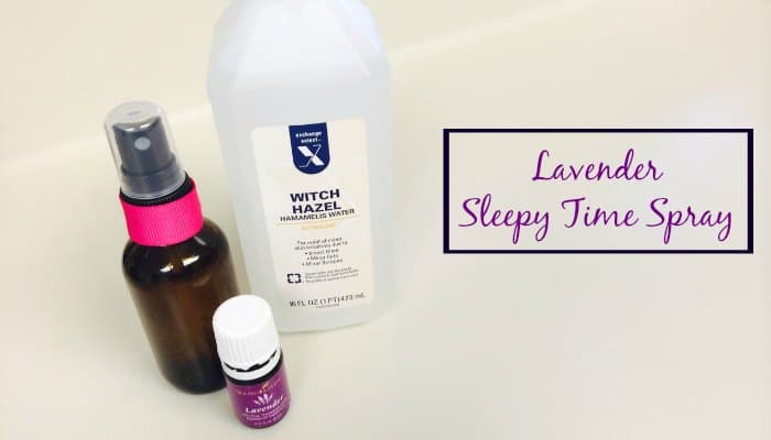 Best DIY Gifts for New Moms Sleepy Spray