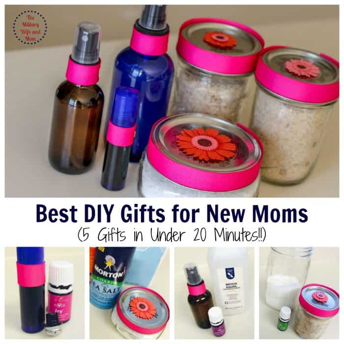 5 DIY Gifts to make any new moms day. These are amazing!