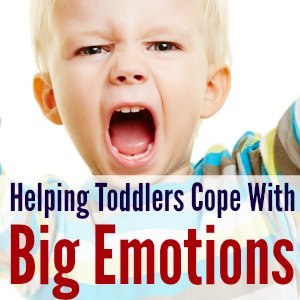 GREAT tips for helping toddlers cope with BIG emotions---tantrums included!