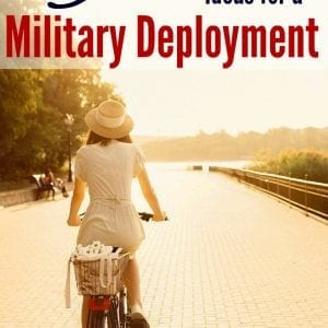The most awesome military deployment self-improvement ideas from over 15 military wives!