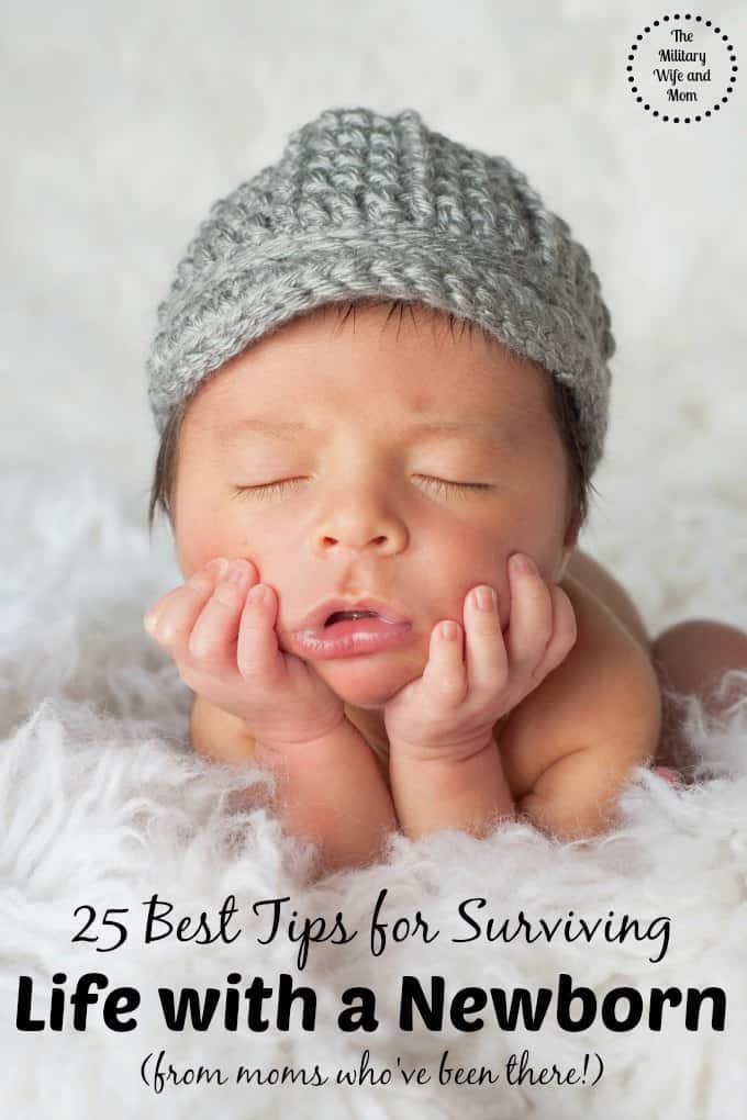 Mommy to be? Over 16 moms share their best secrets to surviving the newborn phase! Huge help!