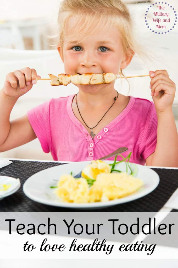 Teach your toddler to enjoy healthy eating with these awesome ideas! It worked for us!