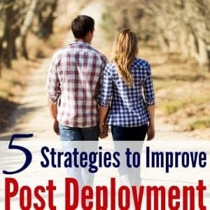Ever wonder how to get your spouse to share deployment experiences with you? Love these 5 strategies to improve communication post deployment!
