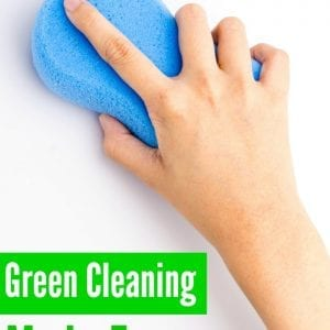 Create your own green cleaning routine for busy moms with these easy green cleaning recipes!