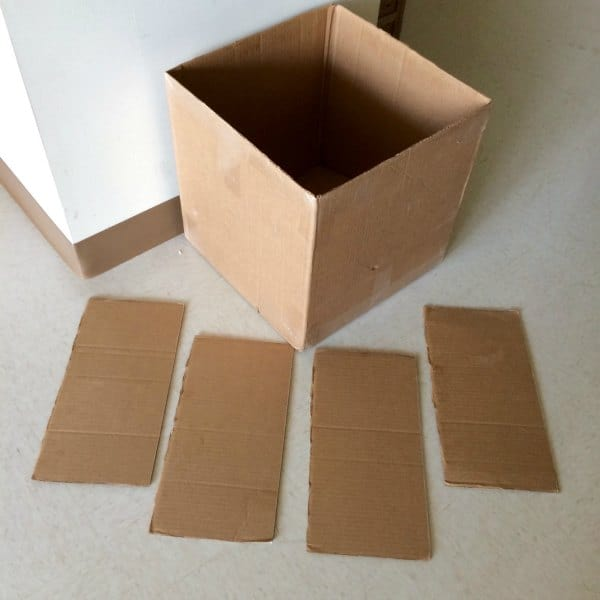 How to make a cardboard box car in 20 minutes.