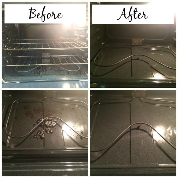 Clean your oven without toxic chemicals! Green cleaning routine for busy moms!