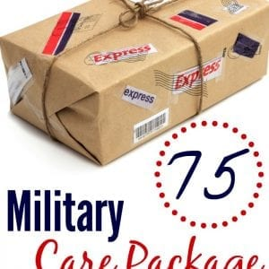 Looking for military care package ideas? Here are some fun and creative ways to get started!!