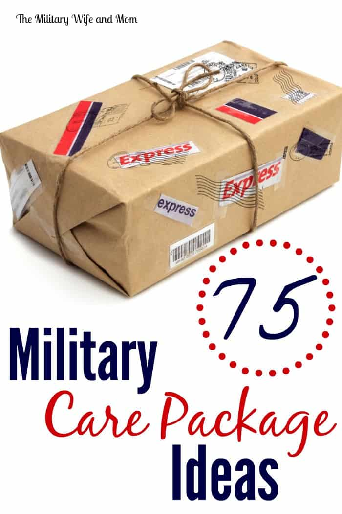 75 awesome military care package ideas