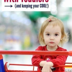 How to run errands with a toddler without yelling!