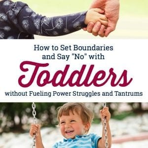 This is how to deal with toddler tantrums! So many great ideas for stopping temper tantrums in toddlers and preschoolers. #howtohandletoddlertantrums #stoptempertantrum #positiveparentingtoddlers #toddlerwontstopcrying