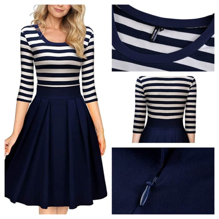 Super cute military homecoming outfit dress that you can wear again and again.