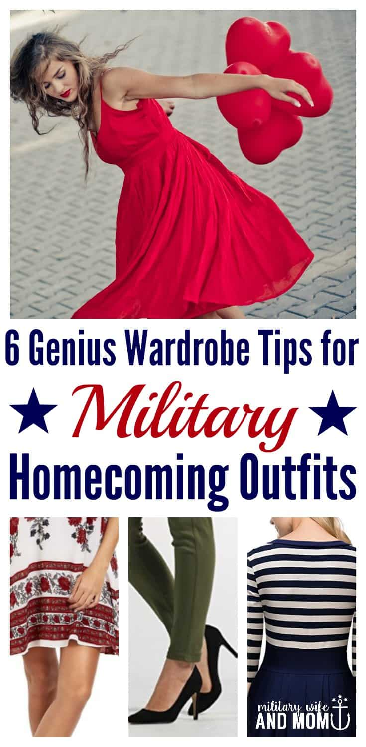 Ready to take your military homecoming outfit to the next level? Read this first! **Loved all the tips she shared in this post. Was able to find a military homecoming outfit super fast and for a great price.