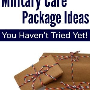 Wow, would've never thought of these military care package ideas!