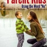 """Wondering if parenting kids using the word """"no"""" too much is bad? Here's your answer."""
