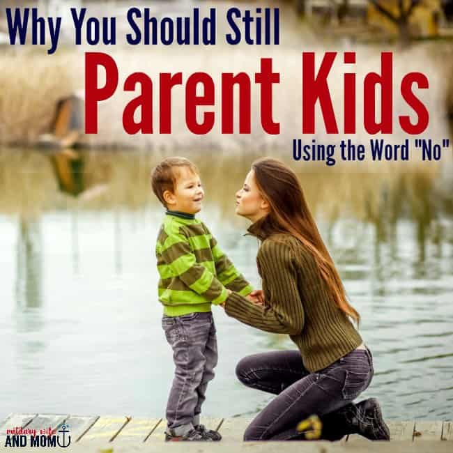 Why You Should Say No When Parenting Kids SQ