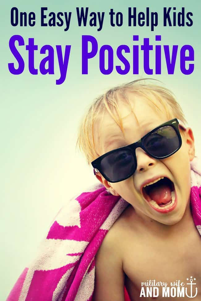 Help Kids Stay Positive PIN