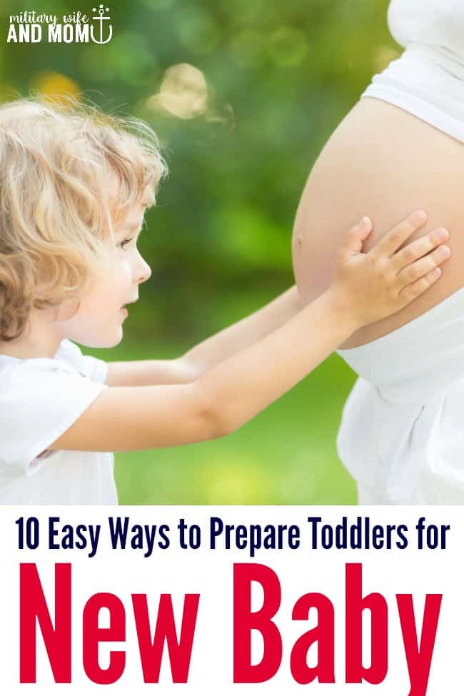Preparing toddler for new baby? Super easy, yet great ideas!