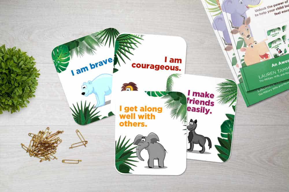 Printable affirmations for kids or students