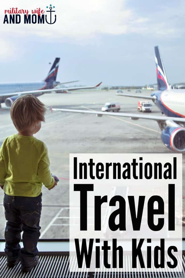 How to survive international travel with kids.