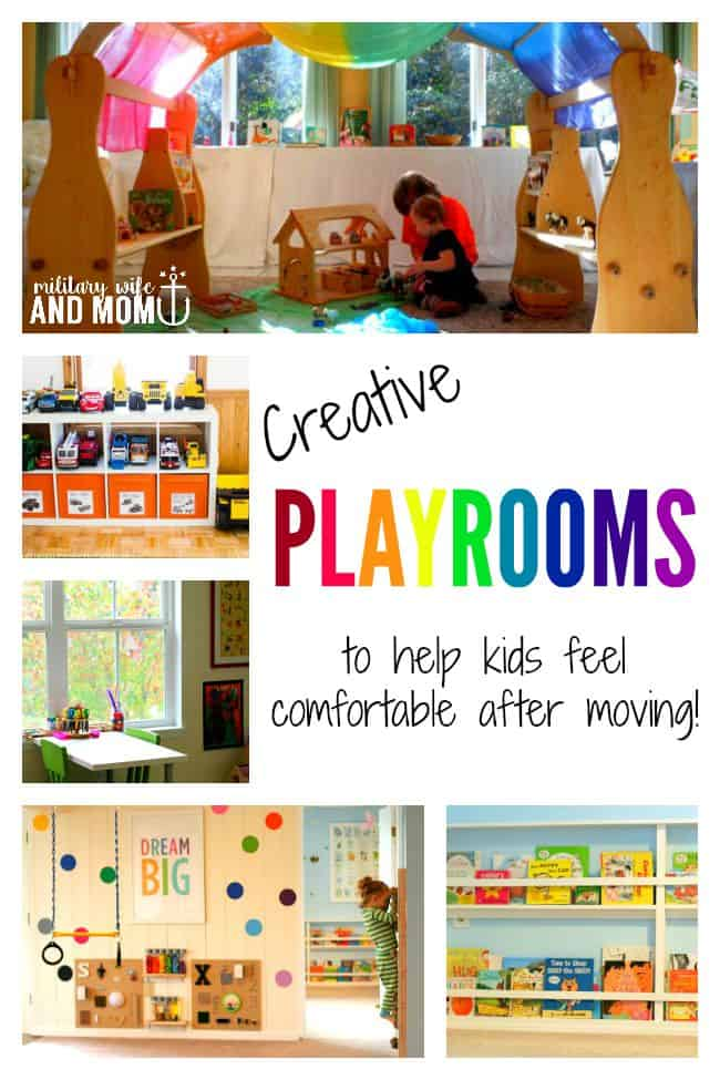Creative ideas for kids rooms and playrooms!