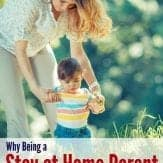 Encouraging read for stay at homemoms!