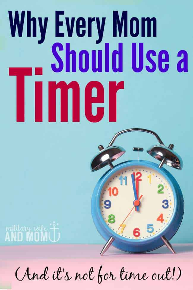 Awesome timer hacks for busy moms!