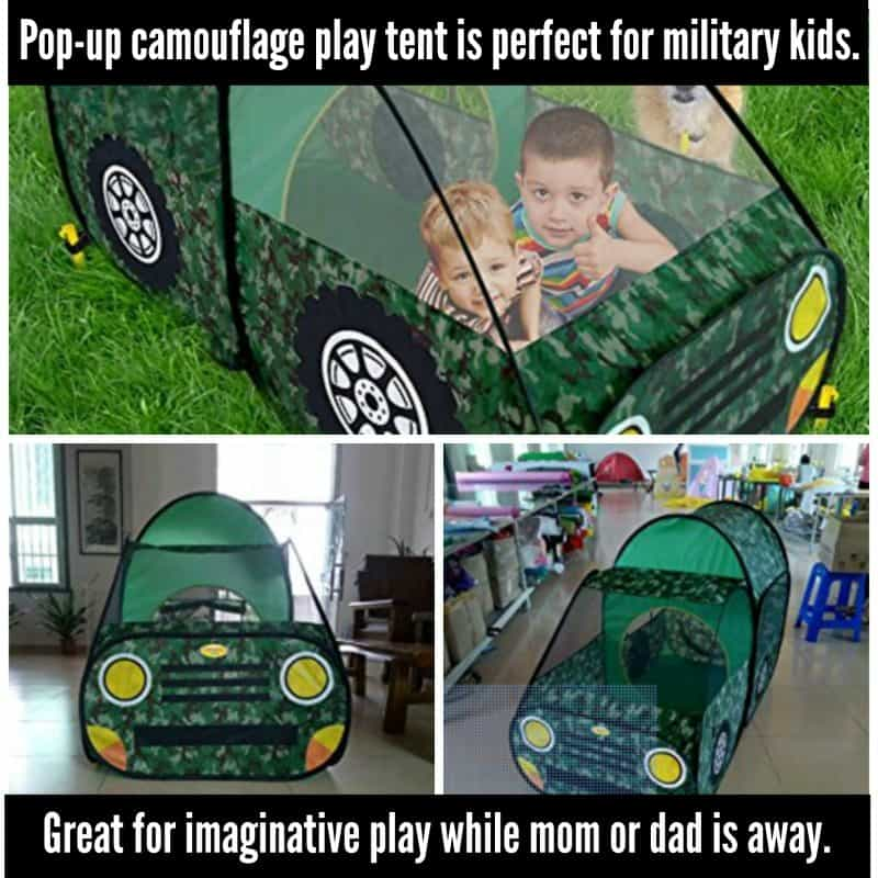 Perfect for military kids to use with imaginative play during a military deployment.