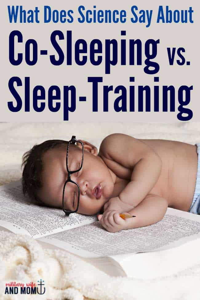 No gimicks. Just science and real answers about co-sleeping and sleep-training.