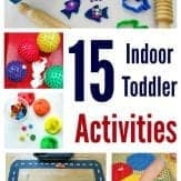 Rainy day? Try these amazing indoor toddler activities!