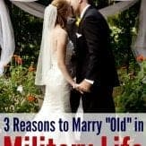 3 reasons to wait on military marriage.