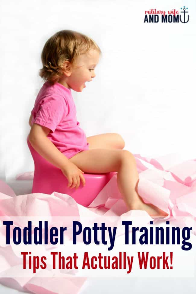 We potty trained our 26 month old using these tips!