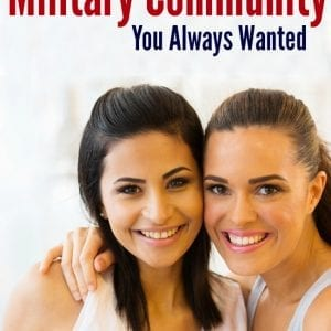 Searching for a military spouse community? These tips are so helpful!